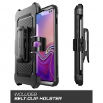 SUPCASE Galaxy S10 Plus Unicorn Beetle Pro Serisi Kılıf-Black