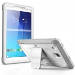 SUPCASE Samsung Galaxy Tab E Unicorn Beetle PRO Seri Kılıf (8.0 inç)-White