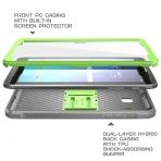 SUPCASE Samsung Galaxy Tab E Unicorn Beetle PRO Seri Kılıf (8.0 inç)-Green