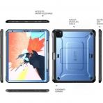 SUPCASE iPad Pro UB Pro Kalem Bölmeli Kılıf (12.9 inç)(4.Nesil)-Blue