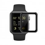 SUPTMAX Apple Watch Seri 3 Ekran Koruyucu (38mm) (Black)