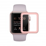 SUPTMAX Apple Watch Seri 3 Ekran Koruyucu (38mm) (Rose Gold)
