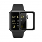 SUPTMAX Apple Watch Seri 3 Ekran Koruyucu (42mm) (Black)