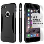 Sahara Case Apple iPhone 7 Slim Fit Kılıf ve Cam Ekran Koruyucu
