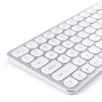 Satechi iOS İçin Alüminyum Bluetooth Klavye (Silver)