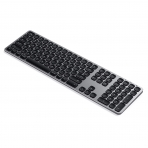 Satechi iOS İçin Alüminyum Bluetooth Klavye (Space Gray)