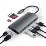 Satechi Alüminyum 4K HDMI 30Hz Çoklu Adaptör