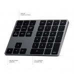 Satechi iOS İçin Alüminyum Bluetooth Tuş Takımı (Space Gray)