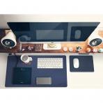 Satechi 24 inç x 14 inç v2.0 Masa Yüzey Koruma Matı-Midnight Blue