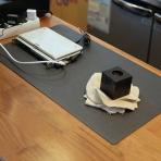 Satechi 24 inç x 14 inç v2.0 Masa Yüzey Koruma Matı-Dark Gray
