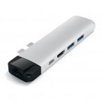 Satechi MacBook Pro 13 ve 15 inç Type-C Pro Adaptör (Silver)