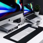 Satechi 7 Bağlantılı USB C Alüminyum Hub Adaptör (Silver)