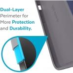 Speck iPhone 13 Pro Max CandyShell Pro Serisi Kılıf (MIL-STD-810G)-Prussian Blue/Cloudy Gray
