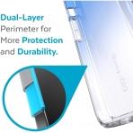Speck iPhone 13 Pro Max GemShell Serisi Kılıf (MIL-STD-810G)-Kyanite Blue/Clear