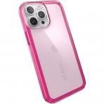 Speck iPhone 13 Pro Max GemShell Serisi Kılıf (MIL-STD-810G)-Pink Tint/Neon Berry