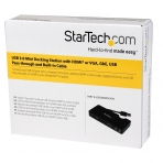 StarTech USB 3.0 HDMI/VGA Gigabit Ethernet Adaptör