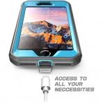 Supcase iPhone SE Unicorn Unicorn Beetle Pro Serisi Kılıf (2.Nesil)-Blue
