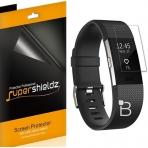 Supershieldz Fitbit Charge 2 Ekran Koruyucu Film (6 Adet)