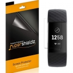 Supershieldz Fitbit Charge 3 Ekran Koruyucu Film (6 Adet)