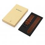 Swees Samsung Gear S3 Deri Kayış-Dark Brown