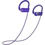 TREBLAB XR100 Bluetooth Kancalı Kulaklık-Purple