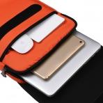 TXEsign Suya Dayanıklı Laptop Sırt Çantası (13-14 inç)-Orange