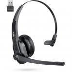 TaoTronics TT-BH041 Trucker Bluetooth Kulak Üstü Kulaklık ve USB Dongle