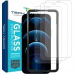 Tech Armor iPhone 12 Pro Max Balistik Cam Ekran Koruyucu(3 Adet)