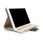 Thankscase Apple iPad Pro Stand Kapak Kılıf (10.5 inç)-Black Gold Plus