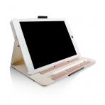 Thankscase Apple iPad Pro Stand Kapak Kılıf (10.5 inç)-Black Rose plus