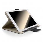 Thankscase Apple iPad Pro Stand Kapak Kılıf (10.5 inç)-Leather Black
