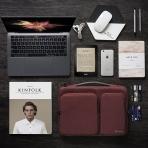 Tomtoc Laptop Çantası (15/15.6 inç)-Burgundy