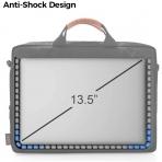 Tomtoc Apple Macbook Air/Pro Omuz Çantası (13.5 inç)-Black