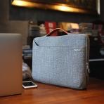 Tomtoc Laptop El Çantası (14-15 inç)-Grey