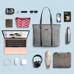 Tomtoc Laptop Omuz Çantası (15 inç)-Gray
