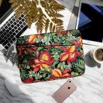 Tomtoc Macbook/Laptop El Çantası (13/13.3 inç)-Tropical Plant