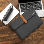 Tomtoc Apple MacBook Pro Aksesuar Çantalı Taşıma Çantası (13 inç)-Black