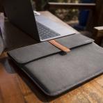 Tomtoc New Apple MacBook Pro Aksesuar Çantalı Taşıma Çantası (15 inç)-Black