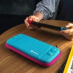 Tomtoc Nintendo Switch Taşıma Çantası-Peacock Blue