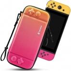 Tomtoc Nintendo Switch Taşıma Çantası-Twisted Orange