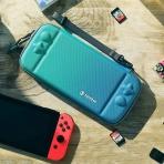 Tomtoc Nintendo Switch Taşıma Çantası-Twisted Blue