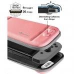 Tomtoc Nintendo Switch Taşıma Çantası-Coral