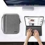 Tomtoc Portfolio Düzenleyici Çanta (12.9 inç)-Gray