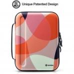 Tomtoc Portfolio Düzenleyici Çanta (12.9 inç)-Mixed Orange