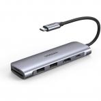 UGREEN USB C 6 Bağlantılı Hub Adaptör