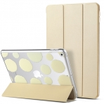 ULAK iPad 9.7 inç Smart Shell Deri Standlı Şeffaf Arka Kapak