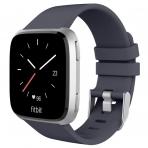 UMTELE Fitbit Versa Silikon Kayış (Large)