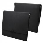Valkit MacBook Pro Deri Kılıf (15 inç)-Black