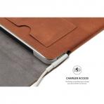 Valkit iPad Deri Kılıf (9.7 inç-10.1 inç)-Brown