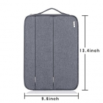 Voova MacBook Air/Pro Laptop Sleeve Çanta (13-13.3 inç)-Grey